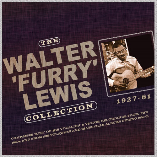 Walter Furry Lewis - Collection 1927-61 2 CD SET
