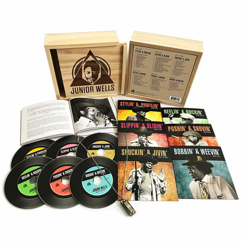 JUNIOR WELLS - BOX OF BLUES - 6 CD SET