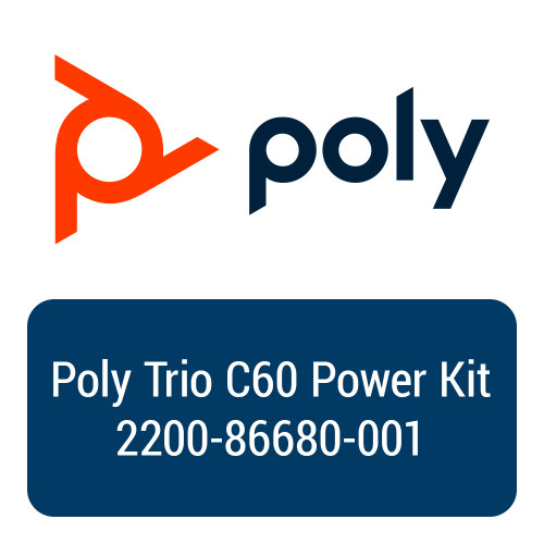 Poly (Polycom) Trio C60 Conference Phone Power Kit