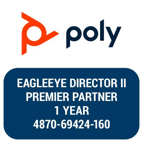 Poly EagleEye Director II, Partner Premier, 1-Year, 4870-69424-160