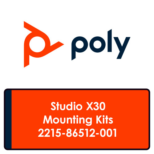 Poly Studio X30 Mount Kits