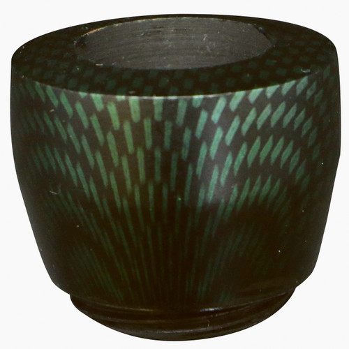 Dover Bowl with a Green Carbon Finish