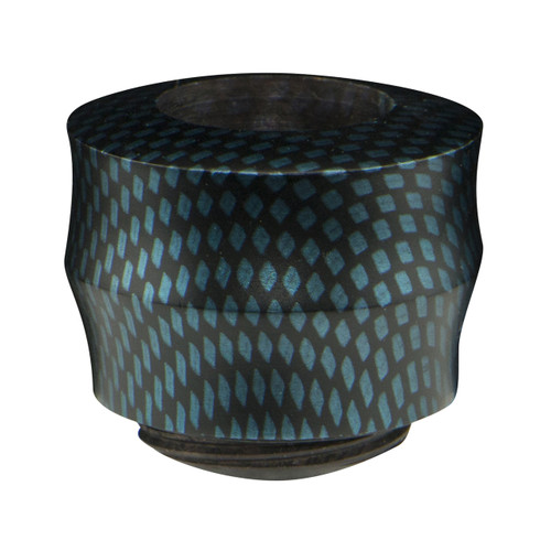 Plymouth Bowl with a Blue Carbon Finish