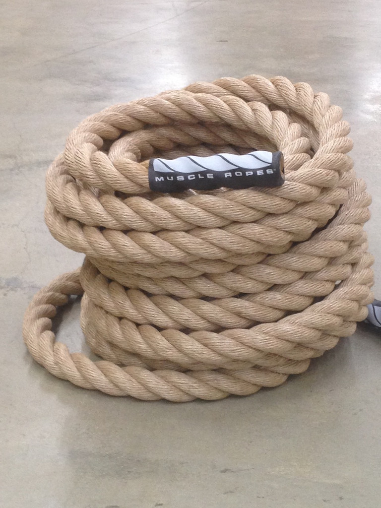 "Sandstorm Series 1.5"" Unmanila Battle Rope By Muscle Ropes"