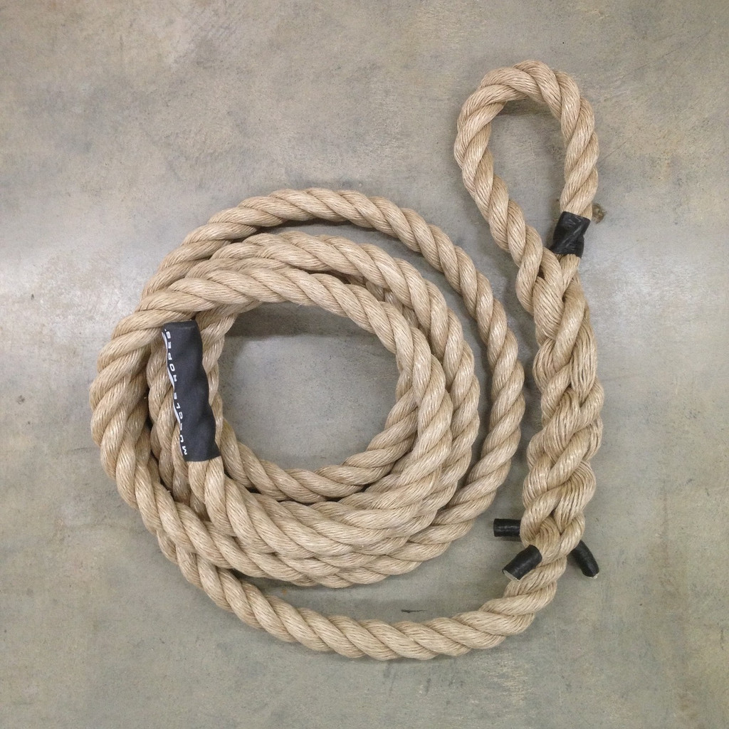 "1.5"" Unmanila OCR Climbing Exercise Rope"