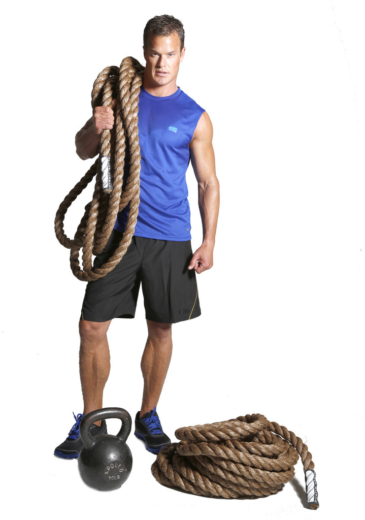 """Aftershock 1.5"""" Battle Rope By Muscle Ropes"""