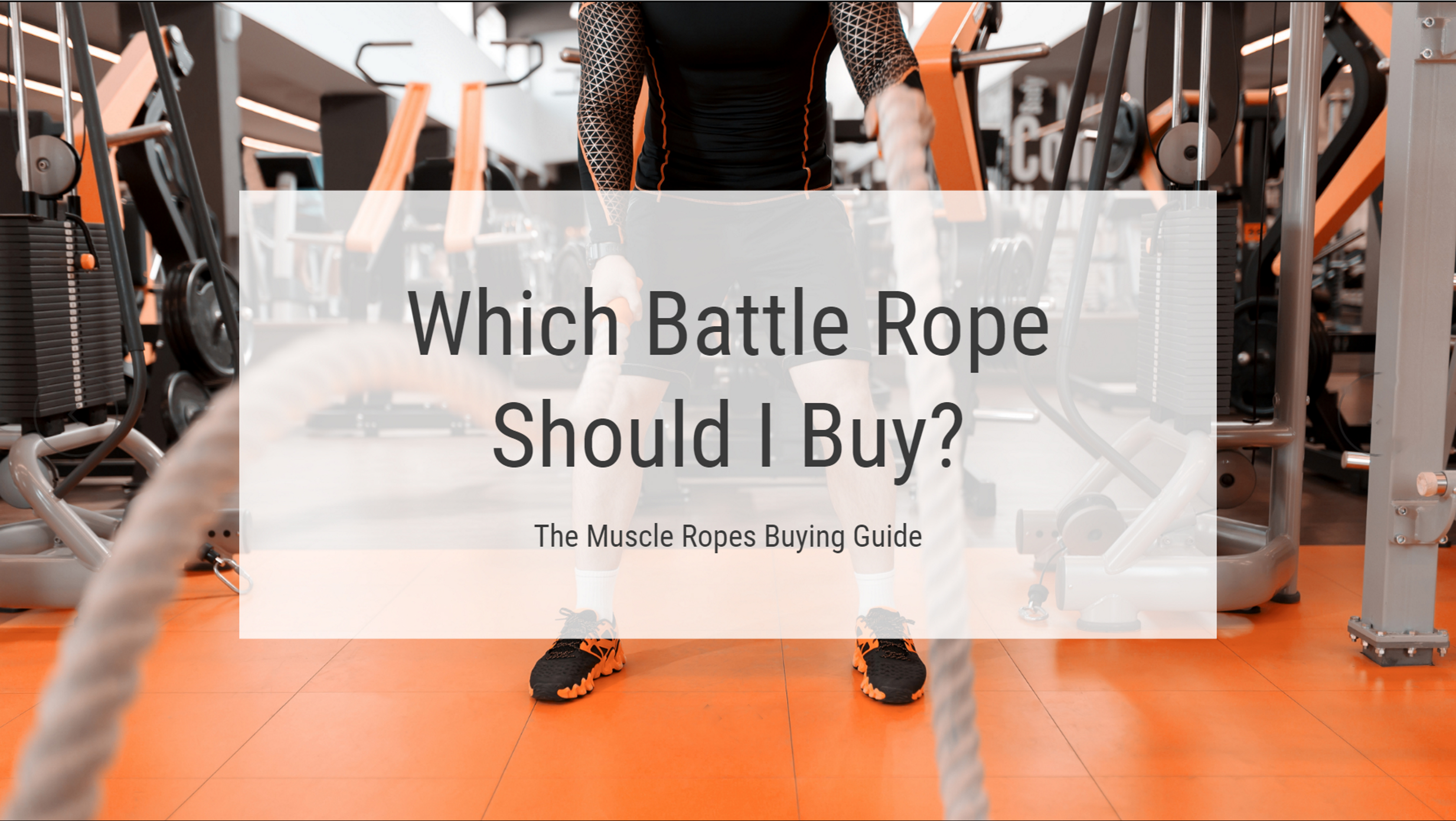 Battle Ropes For Sale >> Which Battle Rope Should I Buy The Muscle Ropes Buying Guide