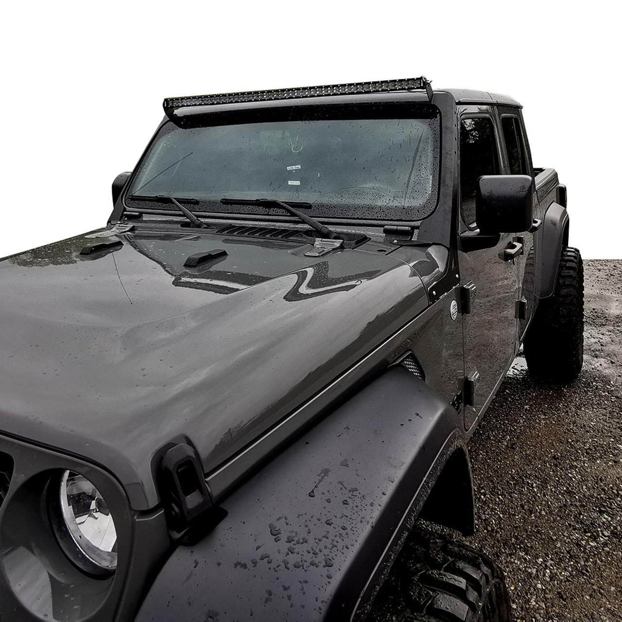 LED Light Bar Kit Slim 50 Inch for Jeep Wrangler JL 2018+