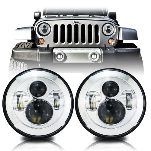 Chrome Projector Headlamps