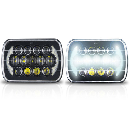 LED headlights for the YJ and XJ Cherokee