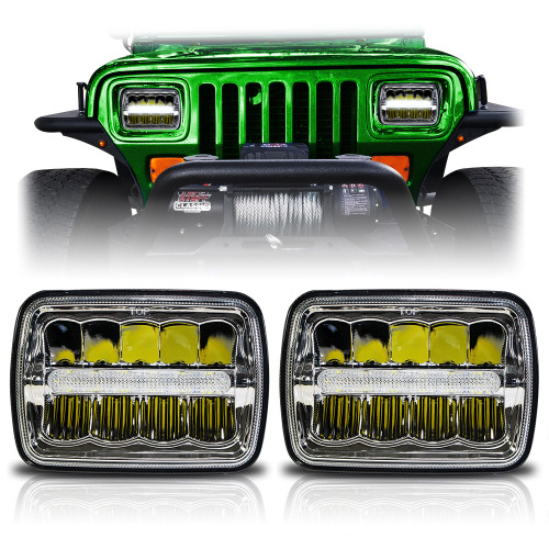 Fits YJ and XJ Cherokee Headlights