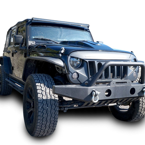 Steel Tube Style Metal Fenders for Wrangler JK 2007-2018