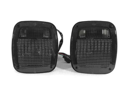 Smoked Tail Lights for Wrangler TJ 1997-2006