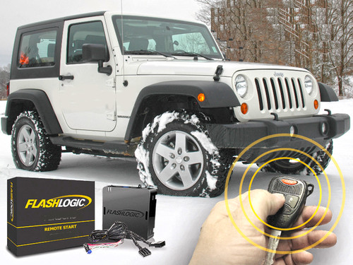 Remote Start Plug and Play for Jeep Wrangler 2007-2018
