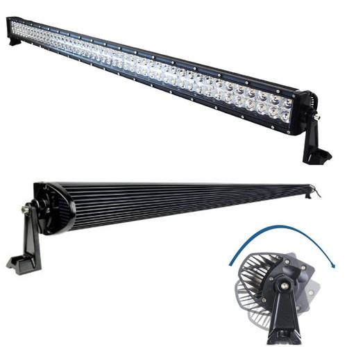 LED Light Bar Combo Kit with Brackets for Jeep Wrangler 2007-2018