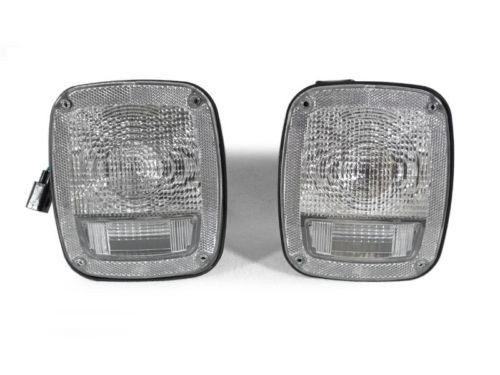 Clear Tail Lights for Wrangler TJ 1997-2006