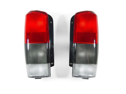 Red & Smoked Tail Lights for Jeep Cherokee XJ 1997-2001