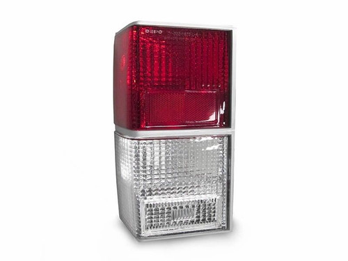 Red & Clear Tail Lights for Jeep Cherokee XJ 1984-1996