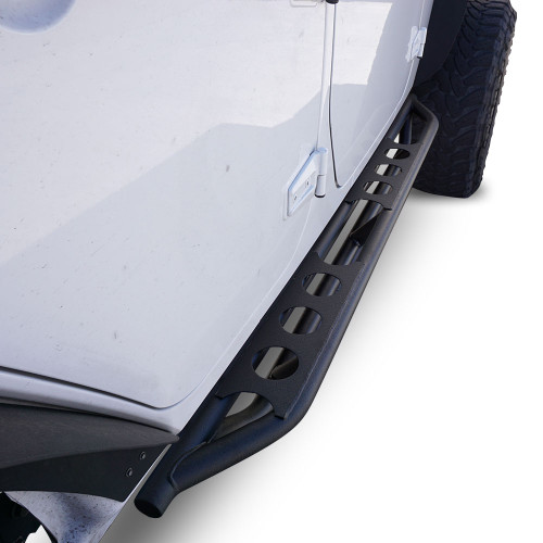 Running Boards Side Steps Rail Steps Rock Sliders 2007-2018 Jeep Wrangler 4dr