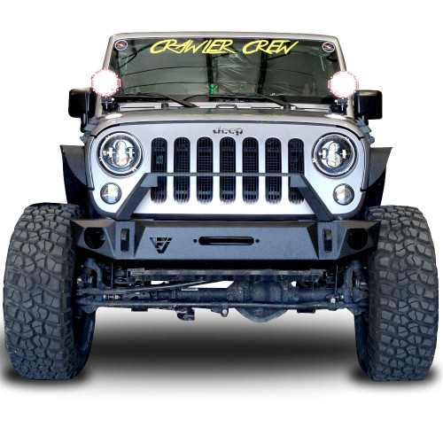 Front Transformer Seven Bumper w/Bull Bar for Wrangler 2007-2018