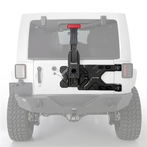 Pivot Heavy-Duty Oversize Tire Carrier for Wrangler JK 2007-2018