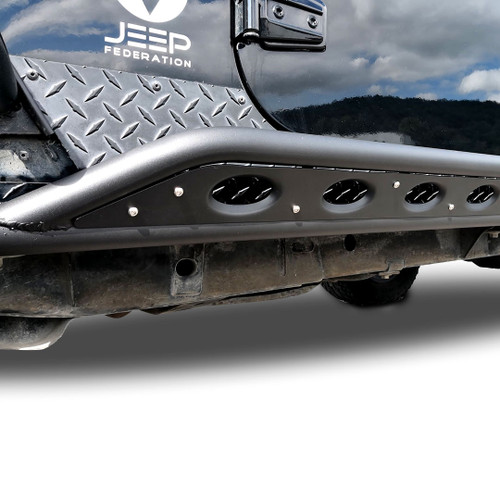 Tube Side Steps Rail Steps Rock Sliders 2007 2018 Jeep