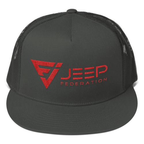 Jeep Federation Mesh Back Snapback