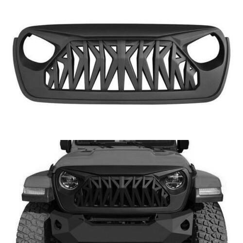 MONSTER Front Grille for Jeep Wrangler JL & Gladiator 2018+