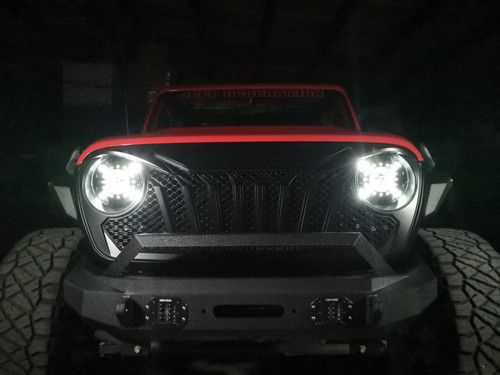 Cyclone LED Headlights for Wrangler JL &  Gladiator 2018+