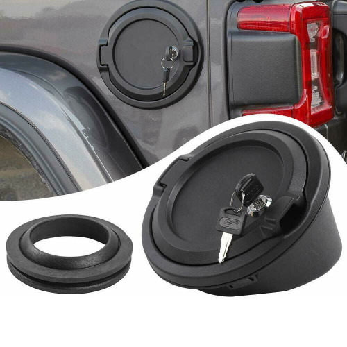 Fuel Gas Cover with Key for Jeep Wrangler JL 2018+