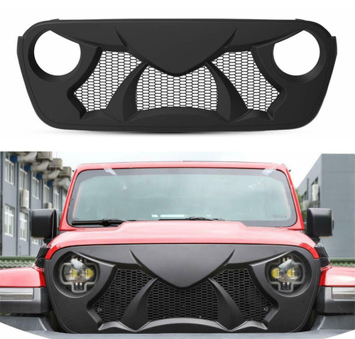 POWER Front Grille for Jeep Wrangler JL & Gladiator 2018+