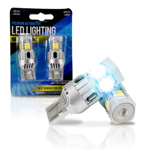 7443 LED No Hyper Flash Only for Jeep Park Lamp Lights (White or Amber)