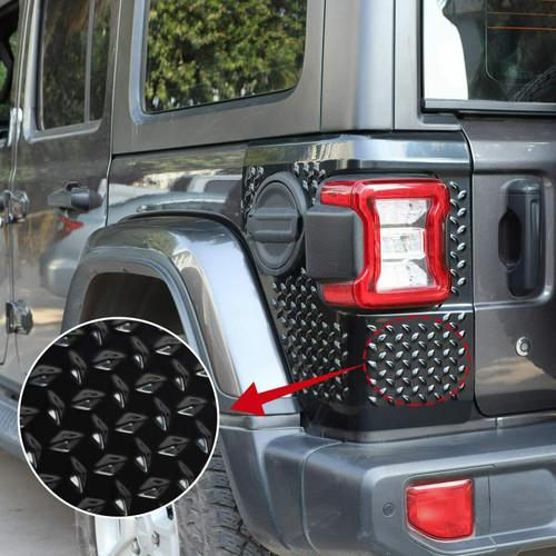Tail Light Cover Body Armor Rear Corner Guards For Jeep Wrangler JL 2018+