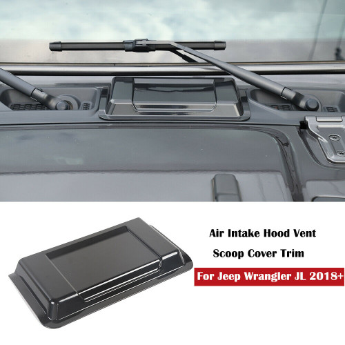 Air Intake Hood Vent Scoop Cover Trim for Jeep Wrangler JL (2018-2020)