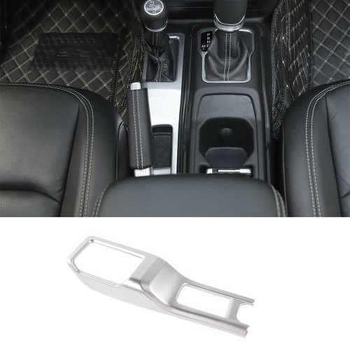 Four-Wheel Drive Gear Shift Panel  Cover For Jeep Wrangler JL 2018+ Silver