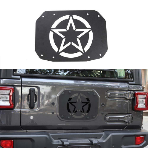 Tailgate Exhaust Vent Cover for Jeep Wrangler JL 2018+