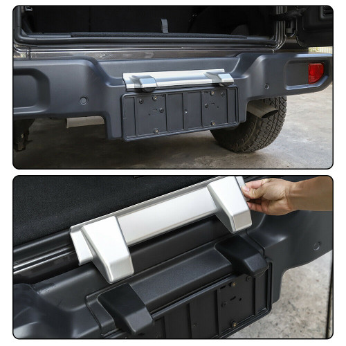 Rear License Plate Lamp Cover Protection Trim for Jeep Wrangler JL 2018+
