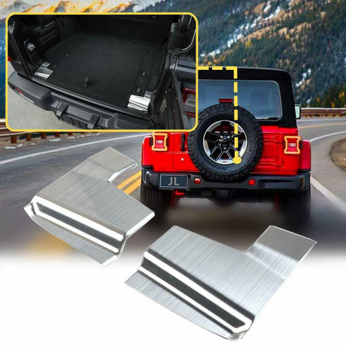 Trunk Guard Cover Protector Trim Stainless for Jeep Wrangler JL 2018+