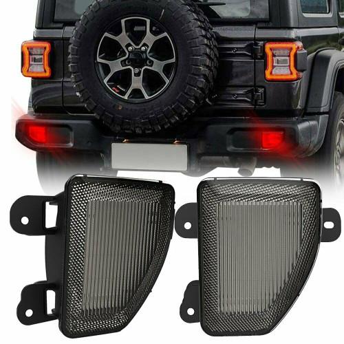 Rear Bumper LED Brake Backup Lamp for Jeep Wrangler JL 2018+