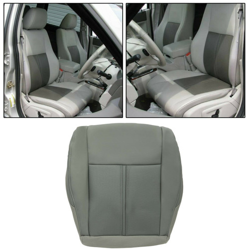 Front Seat Cushion Cover Driver Side For Jeep Grand Cherokee (2005-2007) 2-Tone Gray