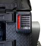 HELIOS Black LED Tail Lights for Wrangler JK 2007-2018