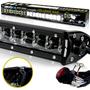 LED Light Bar 288W 50 Inches Bracket Wiring Harness Kit for Wrangler YJ 1987-1995