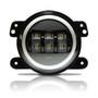 HALO White LED Fog Lamps for Wrangler JK 2007-2018