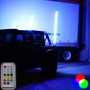 Dual LED Whip Kit Light Off Road Flag Wireless Color Changing