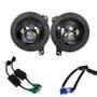 Projector Black LED Headlights for Wrangler JL & Gladiator 2018+