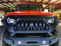 GLADIATOR WARRIOR Front Grille for Jeep Wrangler JL & Gladiator 2018+