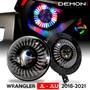 Demon Eye LED Headlights and Fog Lights for Wrangler Sport/Sport S 2018+