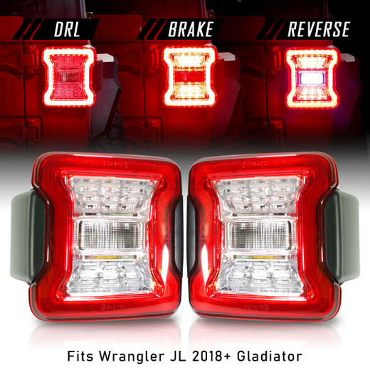 New Tail Lights for Wrangler 2018 up