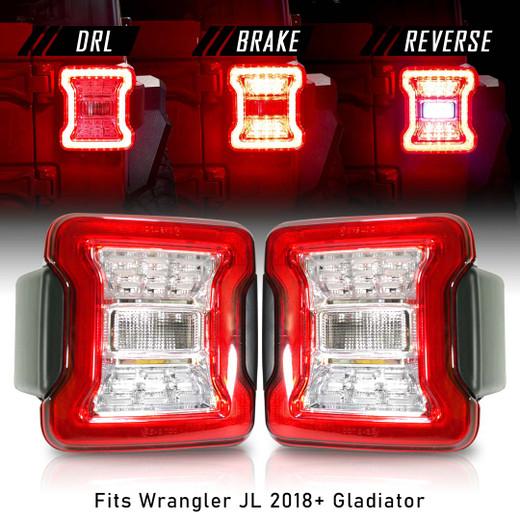 New Tail Lights for Wrangler 2018 up