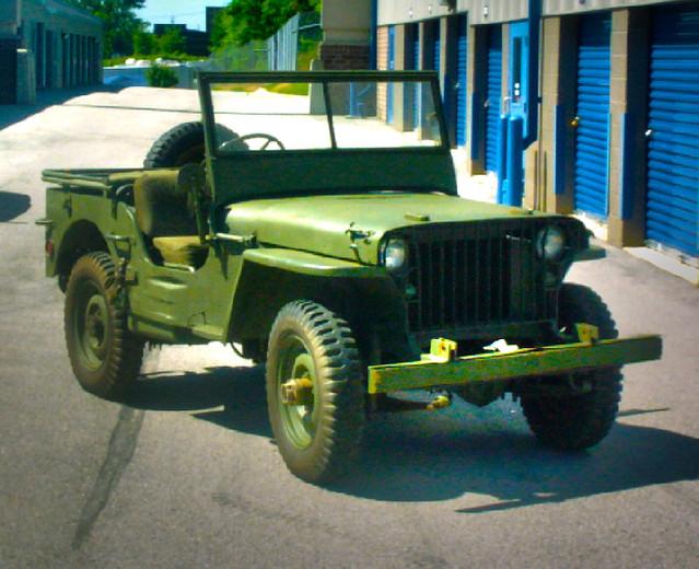 History of the Jeep Wrangler CJ (1945-1986)